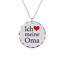 I Love Grandma (German) Necklace