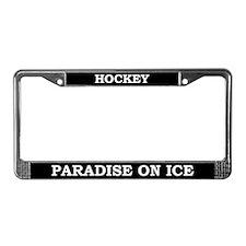 Hockey License Plate Frame