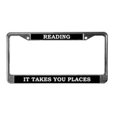 Reading License Plate Frame