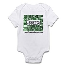 Family Square Liver Disease Infant Bodysuit