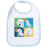 Ilene Poodle Warholl Bib