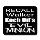 Recall Scott Walker Mousepad