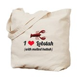 I Love Lobstah Tote Bag