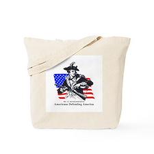 Proud Minuteman Patriot Tote Bag