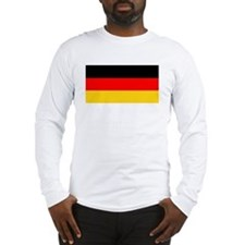 Germany German Blank Flag Long Sleeve T-Shirt