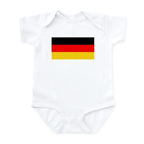 Germany German Blank Flag Onesie Onesies