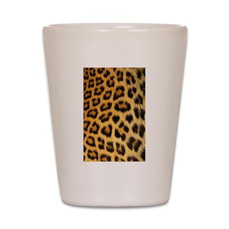 Leopard print Shot Glass