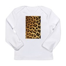 Leopard print Long Sleeve Infant T-Shirt