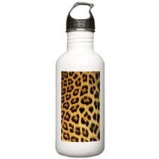 Leopard print Sports Water Bottle
