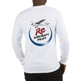 RC Aircraft Pilot Long Sleeve T-Shirt