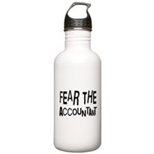 Funny Accountant Water Bottle