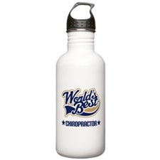 Worlds Best Chiropractor Water Bottle