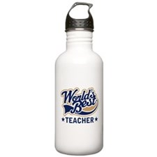 Worlds Best Teacher Sports Water Bottle