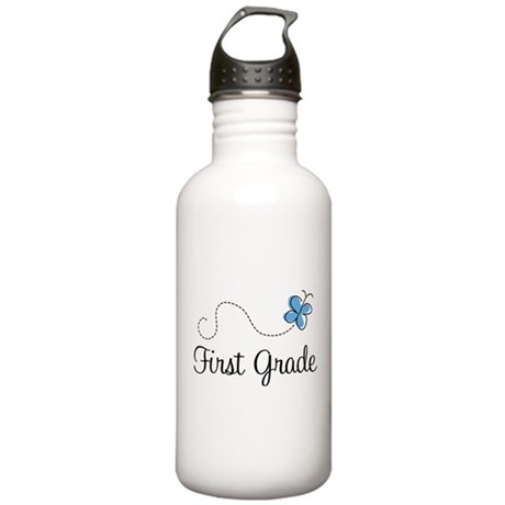 Pretty First Grade Stainless Water Bottle 1.0L