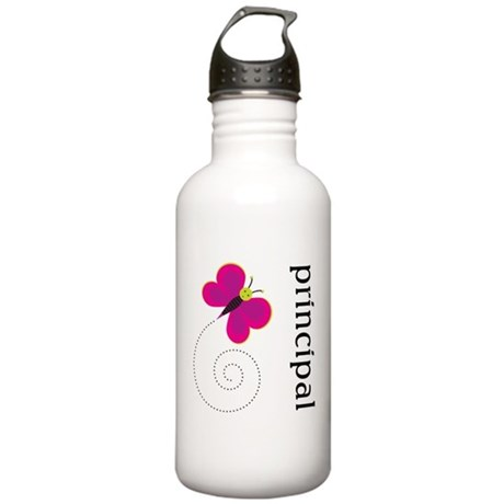 Cute Principal Stainless Water Bottle 1.0L