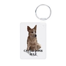 Cattle Dogs Rule Keychains