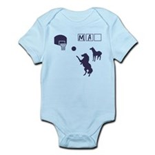 Game of HORSE Human Man Shirt Infant Bodysuit
