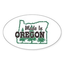 Made In Oregon Decal