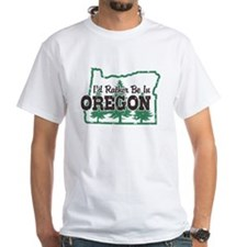 I'd Rather Be In Oregon Shirt