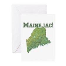 Maine-iac Greeting Cards (Pk of 10)