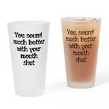 sound better Pint Glass