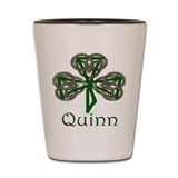 Quinn Shamrock Shot Glass