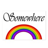Somewhere Over the Rainbow Postcards (Package of 8