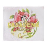 Vintage Pasadena Throw Blanket