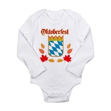Oktoberfest Long Sleeve Infant Bodysuit