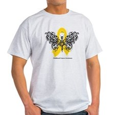 Childhood Cancer Tribal T-Shirt