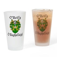 O'Reilly In Irish & English Pint Glass