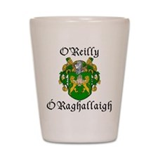 O'Reilly In Irish & English Shot Glass