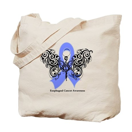 Esophageal Cancer Tribal Tote Bag