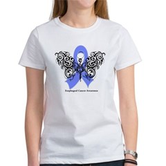 Esophageal Cancer Tribal Women's T-Shirt