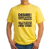 Desire and Dedication T
