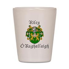 Riley In Irish & English Shot Glass