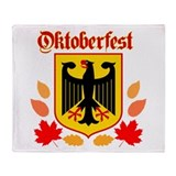 Oktoberfest Throw Blanket