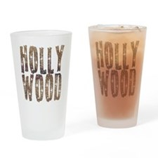 Hollywood Stars and Coffee Pint Glass