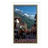 Chamonix Town Postcards (Package of 8)
