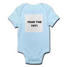 FEAR THE YETI Infant Creeper