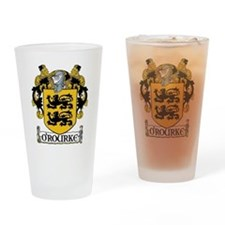 O'Rourke Coat of Arms Pint Glass