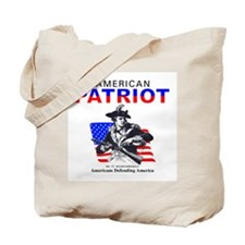 Coast Guard American Patriot Tote Bag