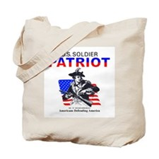 Coast Guard US Soldier Tote Bag