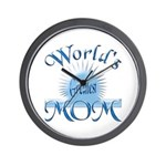 World's Greatest Mom Wall Clock