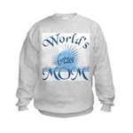 World's Greatest Mom Kids Sweatshirt