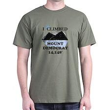 I Climbed Mount Democrat T-Shirt
