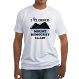 I Climbed Mount Democrat Shirt