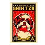 Beware of SHih Tzu! Postcards (Pack of 8)