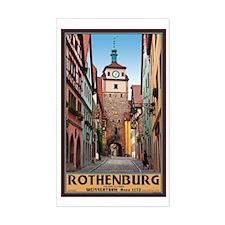 Rothenburg Weisserturm Decal