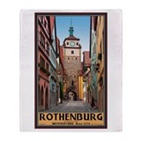 Rothenburg Weisserturm Throw Blanket